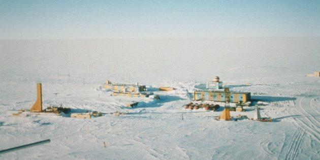 Антарктида: станция «Восток», 2001год