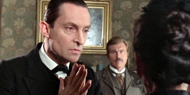 Кадр из сериала «Приключения Шерлока Холмса»