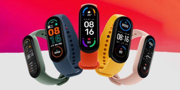 Цена дня: фитнес-браслет Xiaomi Mi Band 6 за 2 843 рубля