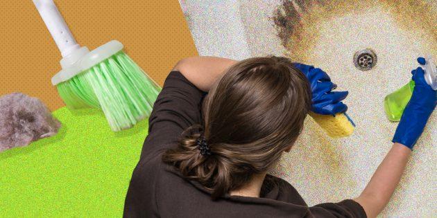 Что будет, если не делать уборку квартиры год