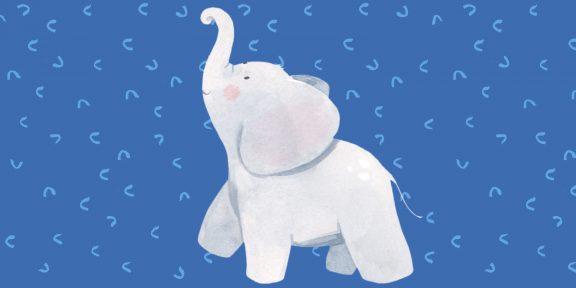 Как нарисовать слона ребёнку и взрослому