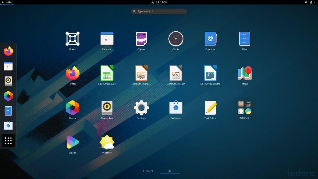 В Linux есть популярные программы