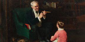 Задача про дедушку и внука, которые играют в детективов