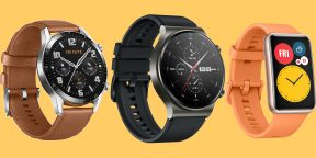 На AliExpress распродажа смарт-часов Huawei Watch GT 2 и Watch Fit