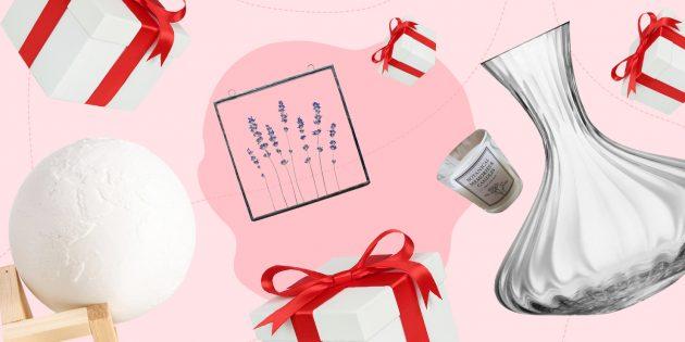 Идеи подарков: предметы для дома и интерьера