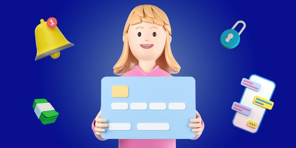 Как использовать мобильный банкинг: заказать виртуальную кредитку