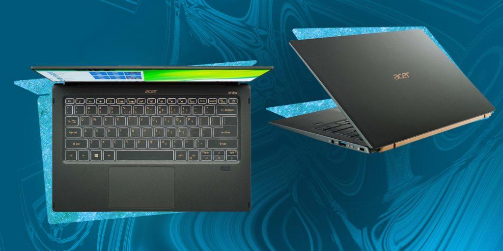 Ноутбуки на базе платформы Intel Evo: Acer Swift 5SF514-55TA-769D
