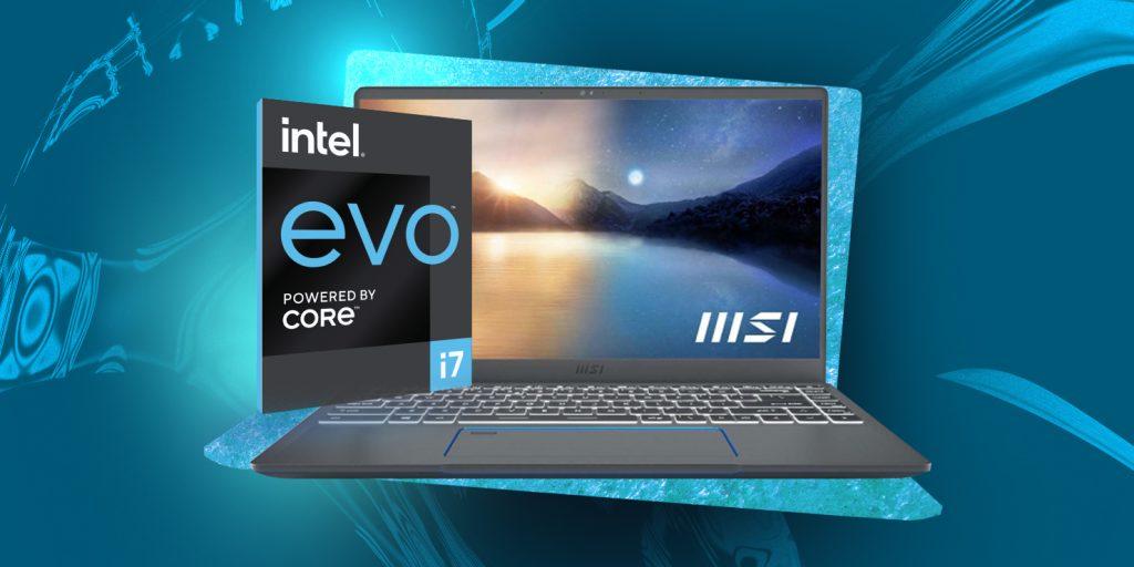 Ноутбуки на базе платформы Intel® Evo™: MSI Prestige 14Evo A11M-266RU