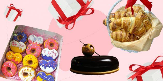 Идеи подарков: десерты и кондитерские изделия