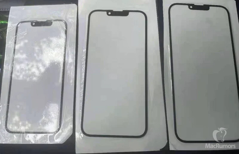 Фото передних стёкол iPhone 13 подтвердили уменьшение «чёлки»