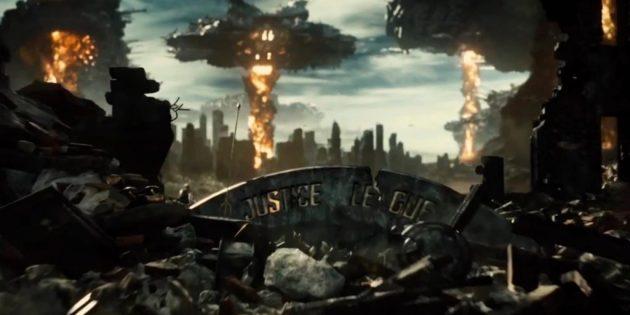 Кадр из фильма «Лига справедливости» Зака Снайдера