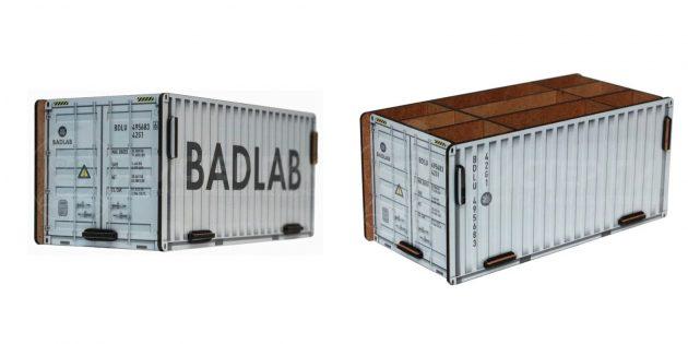 Канцелярские принадлежности: органайзер-контейнер