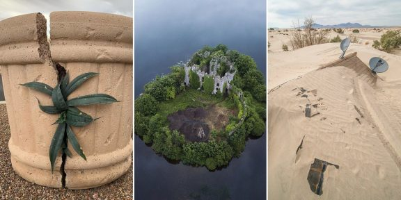 Когда природа победила цивилизацию: 12 удивительных фото со всего мира
