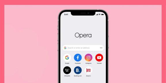 Opera запускает обновлённый браузер для iPhone и iPad