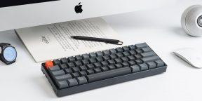 Штука дня: миниатюрная механическая клавиатура Keychron K12