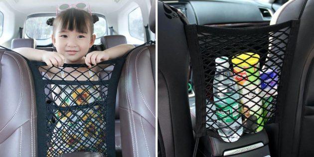 Сетка в авто