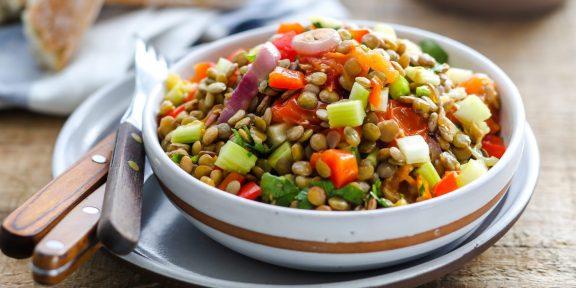 Вкусные постные салаты, которые хочется готовить круглый год