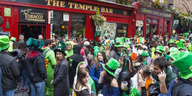Парад на День святого Патрика