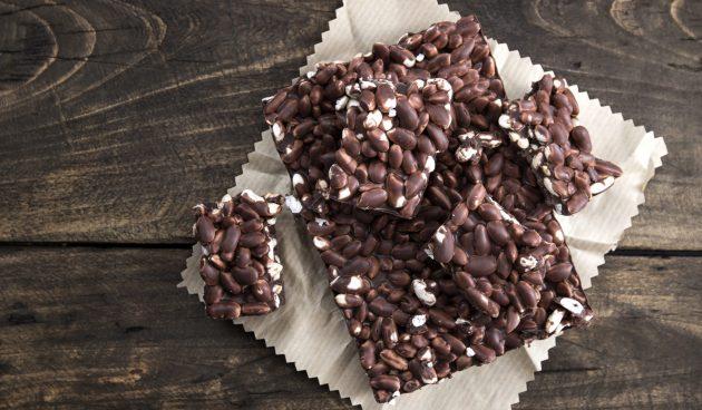 Воздушный рис в шоколаде