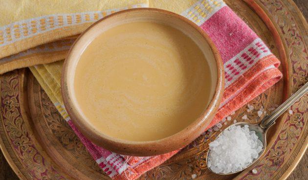 Тибетский чай с маслом