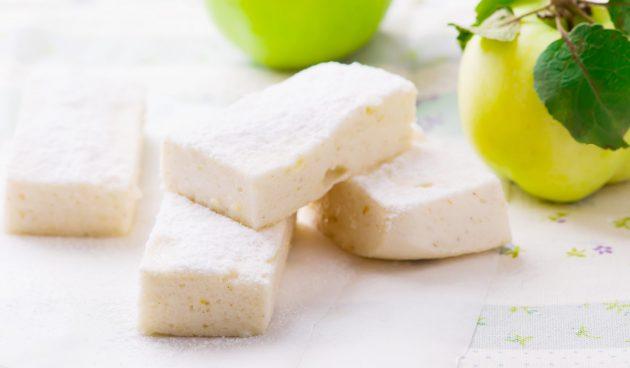 Яблочный ПП-зефир из двух ингредиентов