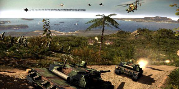 Epic Games Store раздаёт стратегию Wargame: Red Dragon