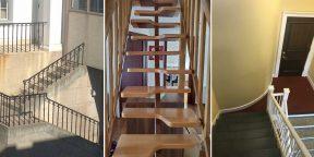 15 ужасных лестниц, которые вызывают немало вопросов