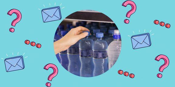Можно ли пить воду в магазине до оплаты?