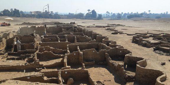 В Египте обнаружили «потерянный золотой город»