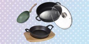 8 сковородок, с которыми вы будете готовить как шеф-повар