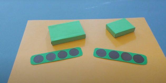 Поделки к 9Мая: Сделайте гусеничные ленты