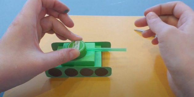 Поделки на 9Мая: Сделайте башню танка