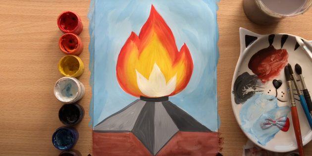 Рисунки на 9Мая: Вечный огонь