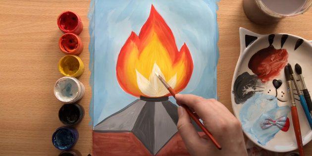 Рисунки на 9Мая: закрасьте фон