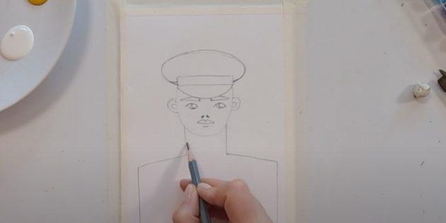 Рисунки к 9Мая: изобразите лицо