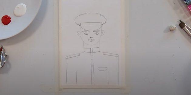 Рисунки к 9Мая: добавьте детали на мундир