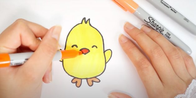 Рисунки к Пасхе: раскрасьте рисунок