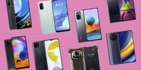 10 смартфонов с мощными аккумуляторами