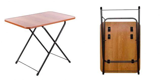 Компактный раскладной стол