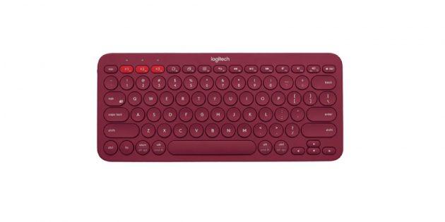Беспроводные клавиатуры: клавиатура с круглыми клавишами