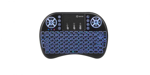 Беспроводные клавиатуры: клавиатура с тачпадом