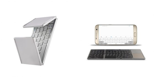 Беспроводные клавиатуры: складная клавиатура