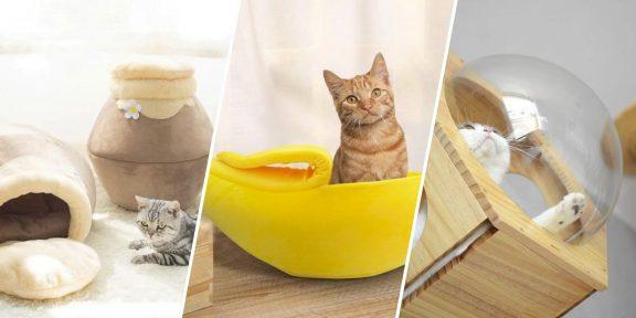 12 классных домиков для кошек