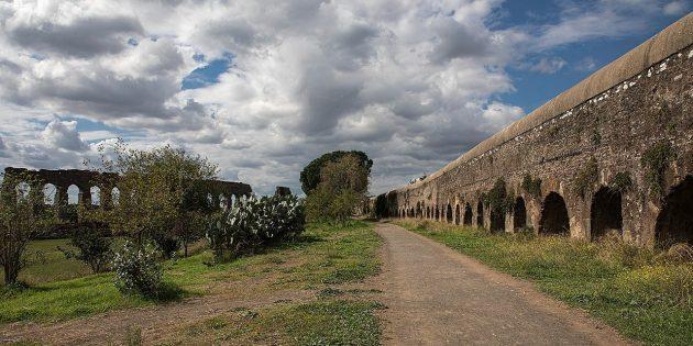 Технологии древних цивилизаций: парк акведуков в Риме