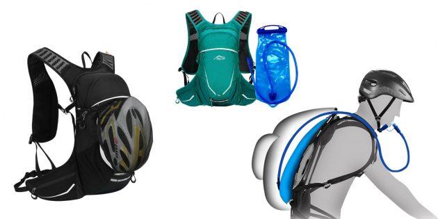 Лёгкий рюкзак с питьевой системой