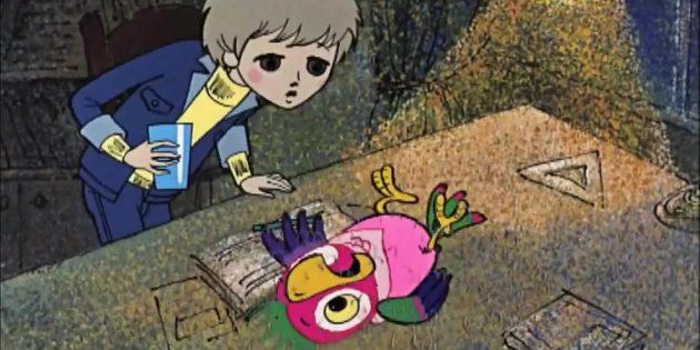 Мультфильмы про птиц: «Возвращение блудного попугая»