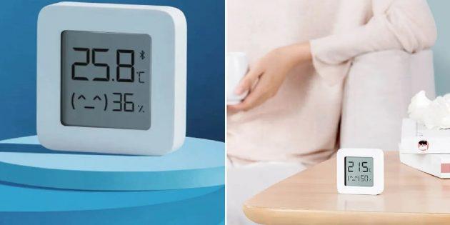 Электроника: термометр Xiaomi