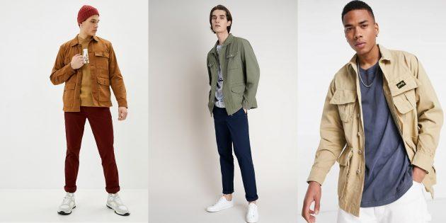 Мужская мода весны-2021: утилитарные куртки и рубашки в стиле сафари