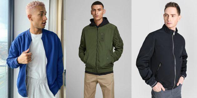 Мужская мода весны-лета — 2021: куртки-бомберы