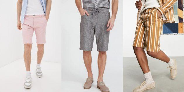 Мужская мода лета-2021: шорты-бермуды